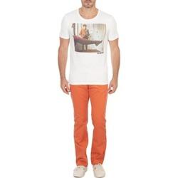 textil Hombre pantalones chinos Selected Three Paris mango pants C NOOS Naranja