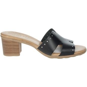 Zapatos Mujer Zuecos (Mules) Porronet FI2625 Negro