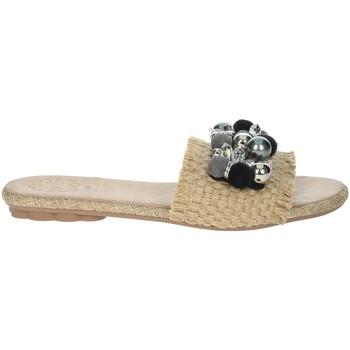 Zapatos Mujer Zuecos (Mules) Porronet FI2608 Beige/Negro