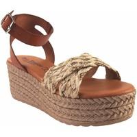 Zapatos Mujer Alpargatas Eva Frutos Sandalia señora  2011 beig Marrón