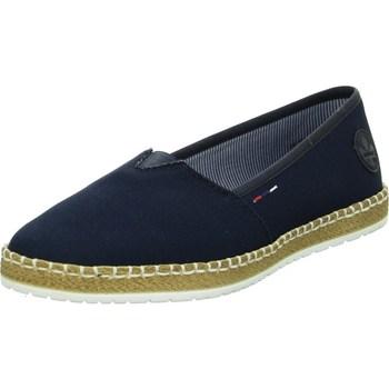 Zapatos Mujer Alpargatas Rieker M227814 Azul