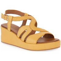 Zapatos Mujer Sandalias Grunland GIALLO I8ZIPE Giallo