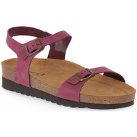 Zapatos Mujer Sandalias Grunland BORDO 11HOLA Rosso