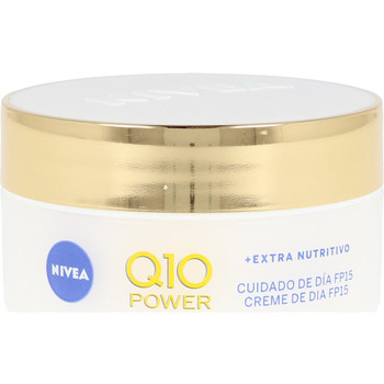 Belleza Mujer Tratamiento corporal Nivea Q10+ Power Anti-arrugas+extra Nutritivo Spf15