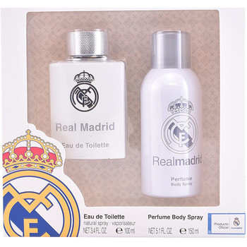 Belleza Hombre Cofres perfumes Sporting Brands Real Madrid Lote 2 Pz 2 u
