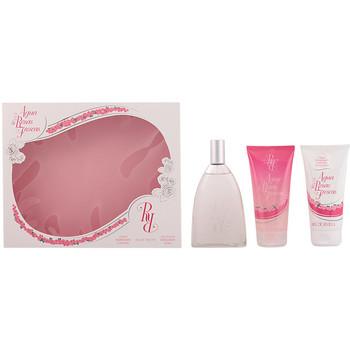 Belleza Mujer Cofres perfumes Aire Sevilla Aire De Sevilla Agua De Rosas Frescas Lote 3 Pz 3 u