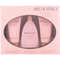 Belleza Mujer Cofres perfumes Aire Sevilla Aire De Sevilla Rosè Lote 3 Pz 3 u