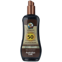Belleza Protección solar Australian Gold Sunscreen Spf50 Spray Gel With Instant Bronzer