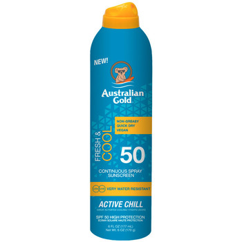 Belleza Protección solar Australian Gold Fresh & Cool Continuous Spray Sunscreen Spf50  1