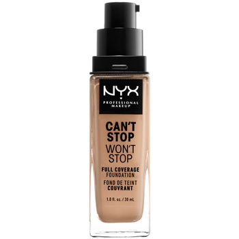 Belleza Mujer Base de maquillaje Nyx Can't Stop Won't Stop Full Coverage Foundation medium Buff