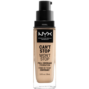 Belleza Mujer Base de maquillaje Nyx Can't Stop Won't Stop Full Coverage Foundation warm Vanilla 30