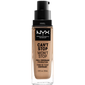 Belleza Mujer Base de maquillaje Nyx Can't Stop Won't Stop Full Coverage Foundation classic Tan 30