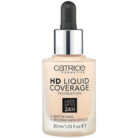 Belleza Mujer Base de maquillaje Catrice Hd Liquid Coverage Foundation Lasts Up To 24h 010-light Bei 30