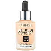 Belleza Mujer Base de maquillaje Catrice Hd Liquid Coverage Foundation Lasts Up To 24h 030-sand Beig 30