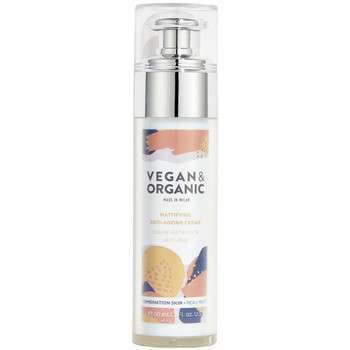 Belleza Mujer Hidratantes & nutritivos Vegan & Organic Mattifying Anti-ageing Cream Combination Skin