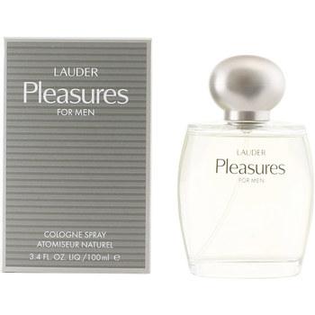 Belleza Hombre Agua de Colonia Estee Lauder Pleasures For Men Cologne Vaporizador  100 ml