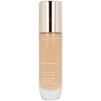 Belleza Mujer Base de maquillaje Clarins Everlasting Teint Mat Haute Tenue 114n-cappuccino