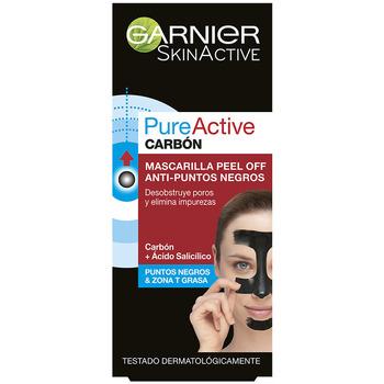 Belleza Cuidados especiales Garnier Pure Active Carbon Mascarilla Peel-off Puntos Negros
