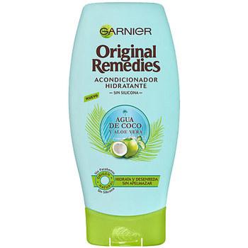 Belleza Acondicionador Garnier Original Remedies Acondicionador Agua Coco Y Aloe
