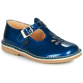 Zapatos Niña Sandalias Aster DINGO Azul / Barniz