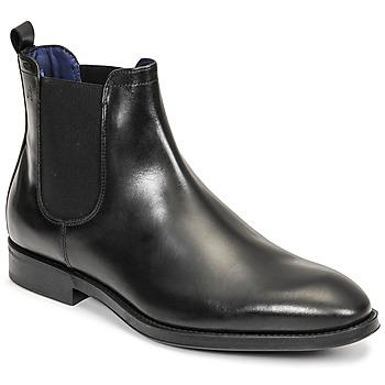 Zapatos Hombre Botas de caña baja Azzaro SEVILLE Negro