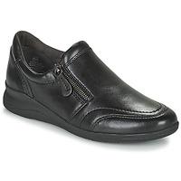 Zapatos Mujer Zapatillas bajas Jana ZERRA Negro