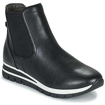 Zapatos Mujer Botas de caña baja Jana HOULIA Negro