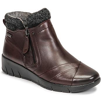Zapatos Mujer Botas de caña baja Jana GHERRA Burdeo