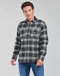 textil Hombre Camisas manga larga Dickies EVANSVILLE LS Negro