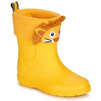 Zapatos Niños Botas de agua Isotoner 99314 Amarillo