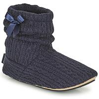 Zapatos Mujer Pantuflas Isotoner 97720 Marino