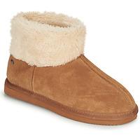 Zapatos Mujer Pantuflas Isotoner 97307 Camel