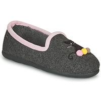 Zapatos Mujer Pantuflas Isotoner 97311 Gris / Rosa