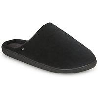 Zapatos Hombre Pantuflas Isotoner 98032 Negro