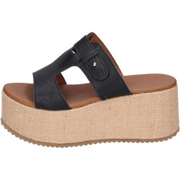 Zapatos Mujer Zuecos (Mules) Sara Collection BJ922 Negro