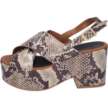 Zapatos Mujer Sandalias Sara Collection BJ932 Beige