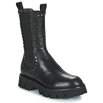 Zapatos Mujer Botas de caña baja Fru.it ALOISA Negro