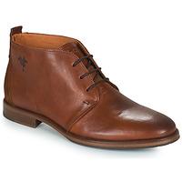 Zapatos Hombre Botas de caña baja Kost MADISON Cognac