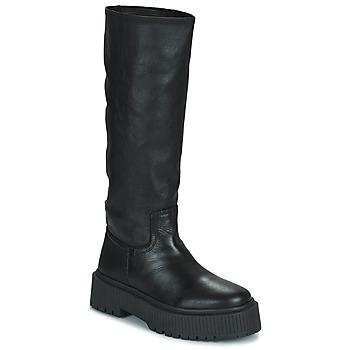 Zapatos Mujer Botas urbanas Musse & Cloud BRULI Negro
