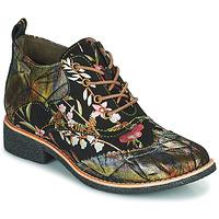 Zapatos Mujer Botas de caña baja Laura Vita COCRALIEO Negro / Verde / Rosa