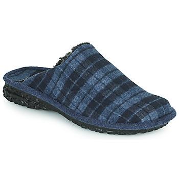Zapatos Hombre Pantuflas Romika Westland TOULOUSE 57 Azul / Negro