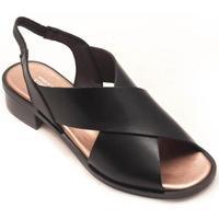 Zapatos Mujer Sandalias Plumers 3354 Negro