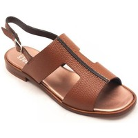 Zapatos Mujer Sandalias Plumers 3351 Beige