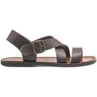 Zapatos Mujer Sandalias Gianluca - L'artigiano Del Cuoio 508X-TDM-G MARRONE
