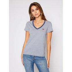 textil Mujer Camisetas manga corta Levi's Strauss CAMISETA PERFECT VNECK LEVIS MUJER Azul