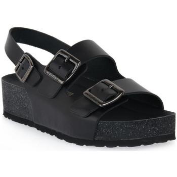 Zapatos Mujer Sandalias Frau NERO NATURAL Nero