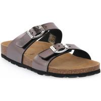 Zapatos Mujer Zuecos (Mules) Grunland ANTRACITE 4SARA Grigio