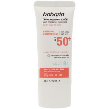 Belleza Protección solar Babaria Solar Multiproteccion Crema Antimanchas Spf50+  50 ml