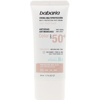 Belleza Protección solar Babaria Solar Multiproteccion Crema Antimanchas Color Spf50+  50