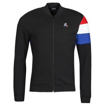 textil Hombre Chaquetas de deporte Le Coq Sportif TRI FZ SWEAT N 1 M Negro